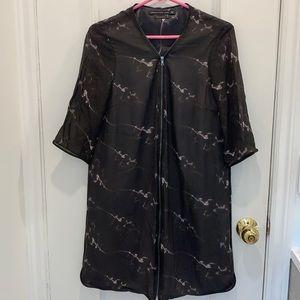 Mackage Silk Patterned Dress Size 10